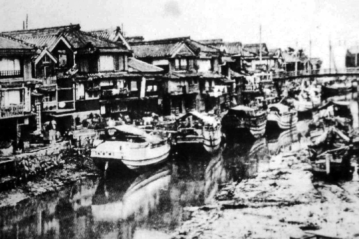 大正時代後期の河崎