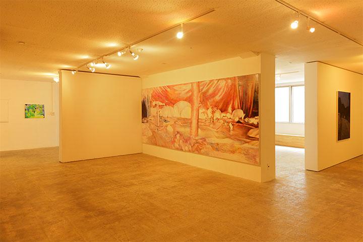 大学連携プロジェクト 愛知県立芸術大学《 Draw the World ― 世界を描く 》アートラボあいち3階