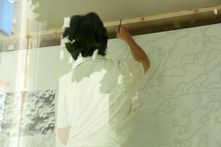 現代美術展 企画コンペ AMR(Art Media Room)《search for》丹羽幸株式会社ミクス館