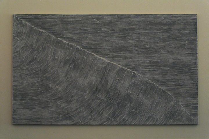 ハン・フェン《波 Ⅳ》愛知県美術館10階