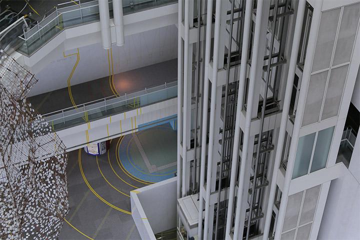 宮本佳明《福島第一さかえ原発》愛知芸術文化センター地下2階~10階