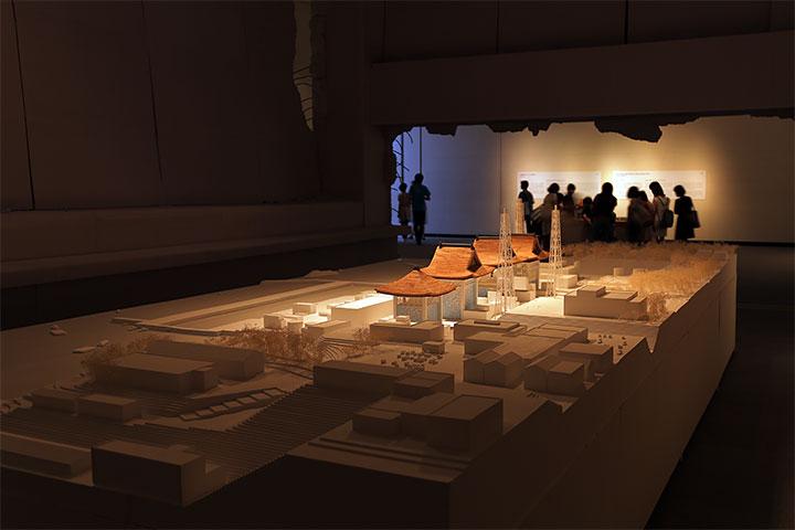 宮本佳明《福島第一原発神社》愛知県美術館8階