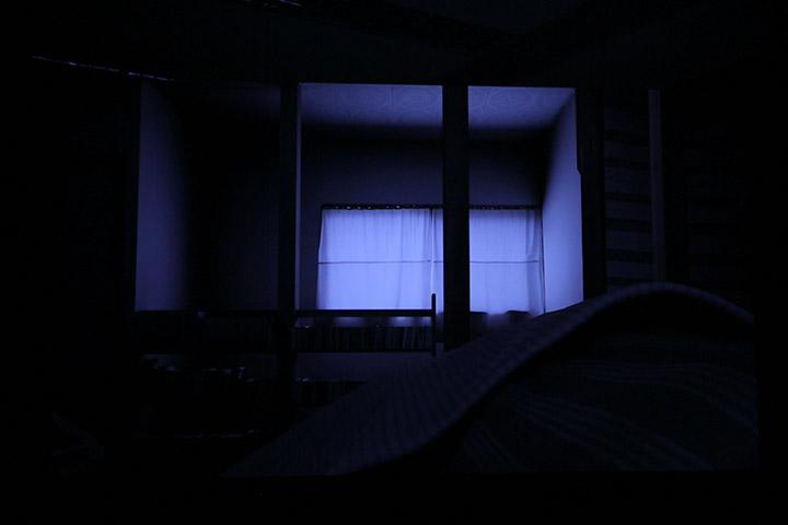 渡辺豪《ひとつの場所、あるいは〈部屋〉の上で》愛知県美術館8階