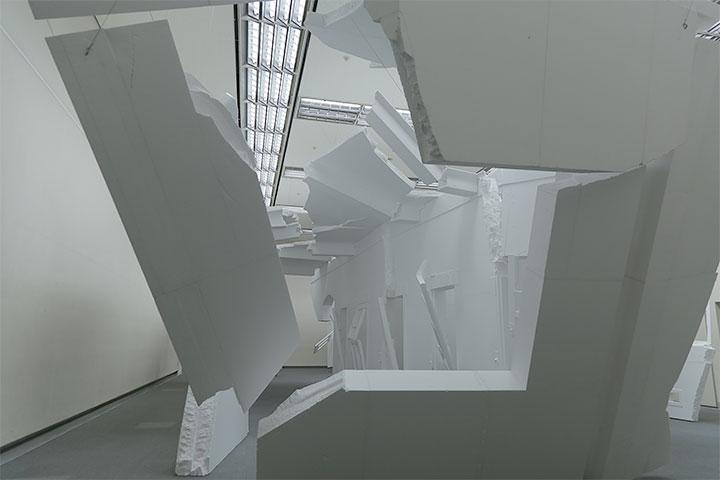 ソ・ミンジョン《ある時点の総体III》愛知県美術館8階