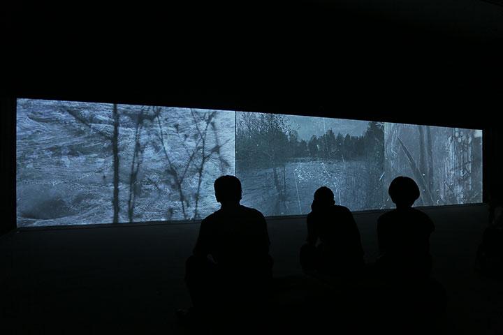 ミカ・ターニラ《フィンランドで最も電化した町》愛知県美術館8階
