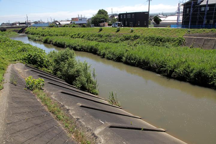 外城田川 水量の増減が激しく「貧乏川」と呼ばれた