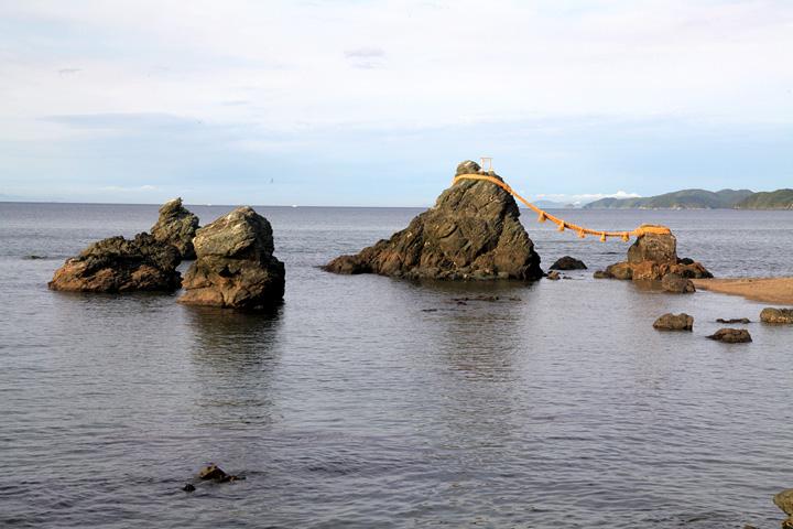 夫婦岩 屏風岩 鳥帽子岩 獅子岩