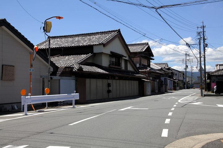 小俣町本町の町並み