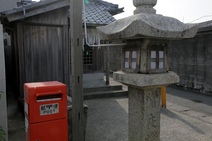 南町庚申 道教の教えにも基づく民俗信仰の祠