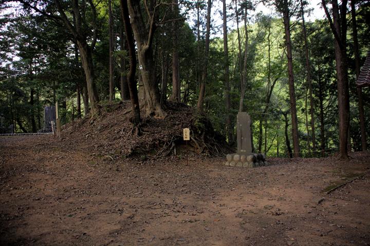 設楽城 二の丸跡