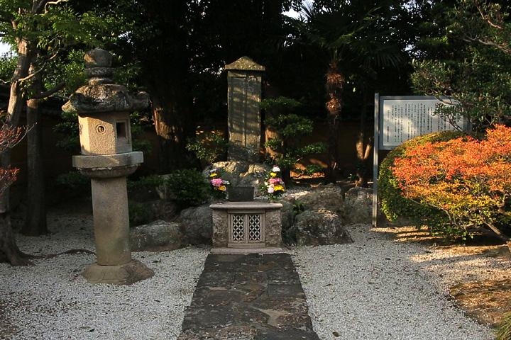 織田信長父子の墓.崇福寺