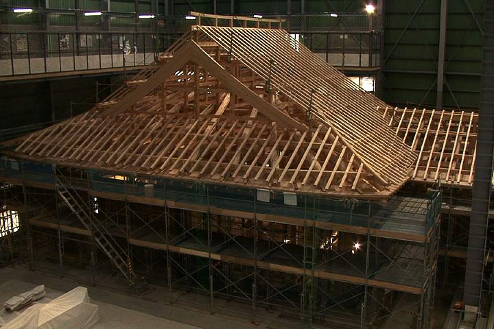名古屋開府400年玄関復元過程特別公開 2010年10月