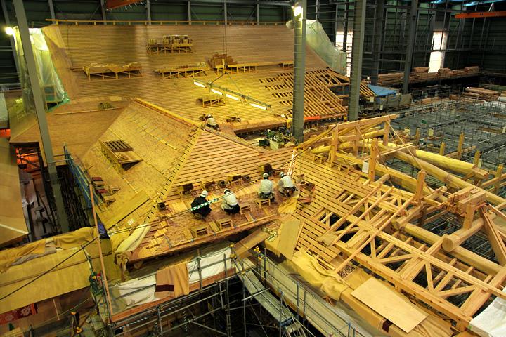 復元工事 2013年1月