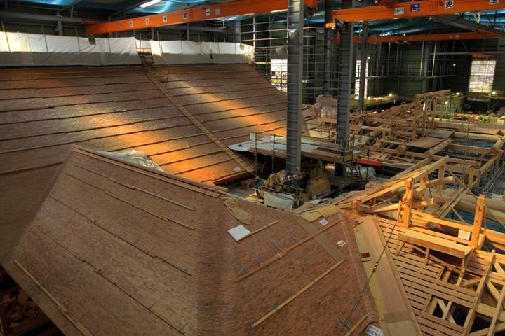 復元工事 2013年3月