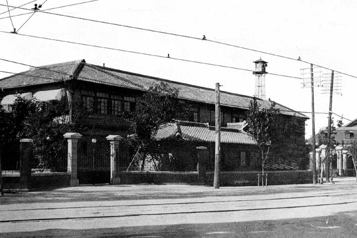 名古屋市役所(明治40年旧庁舎火災焼失のため移転新築)