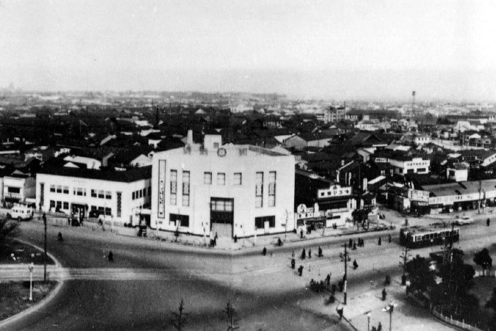昭和20年代半ばの名古屋駅前