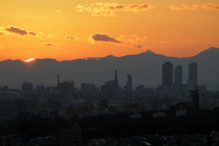 現在の名古屋市街