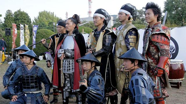 名古屋おもてなし武将隊四周年祭