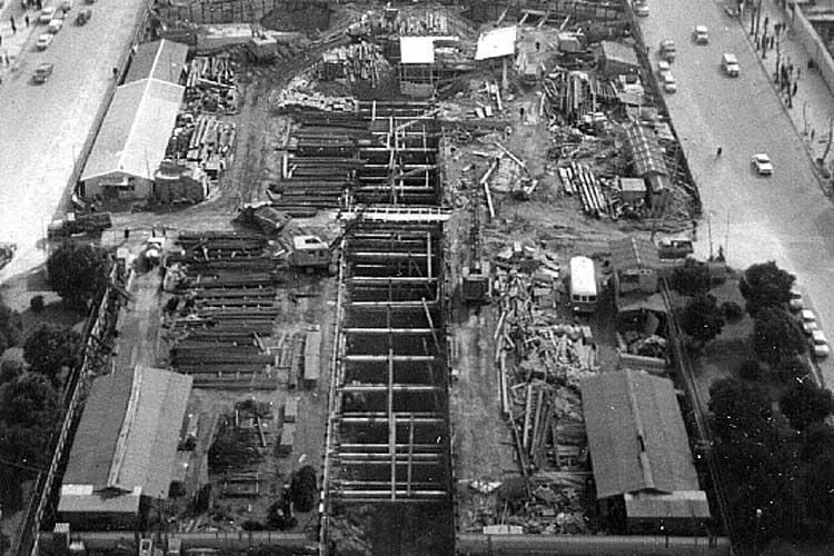 名古屋テレビ塔の建設