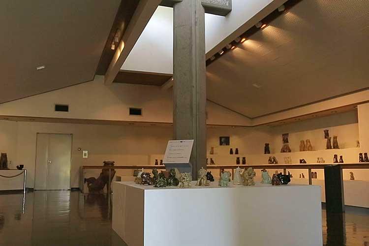 瀬戸・美濃の狛犬の展示