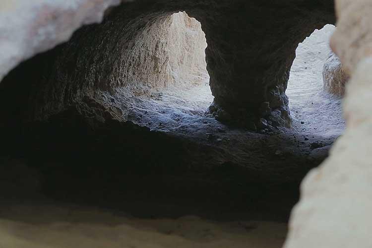 天井が保存された貴重な遺跡