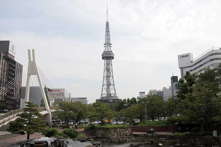 名古屋テレビ塔(北側から撮影)