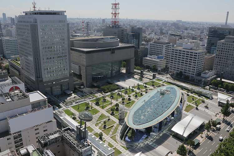 愛知芸術文化センターとオアシス21