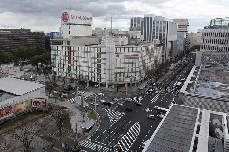 栄交差点(広小路と大津通)