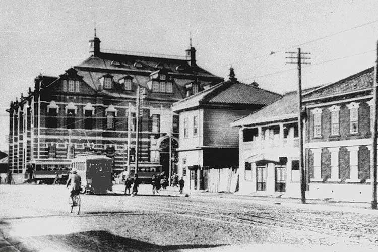 日本銀行名古屋支店と広小路