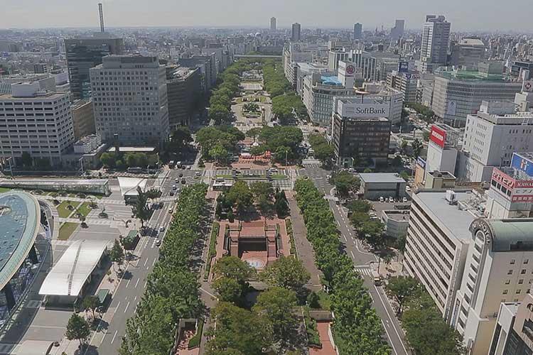 久屋大通公園南側